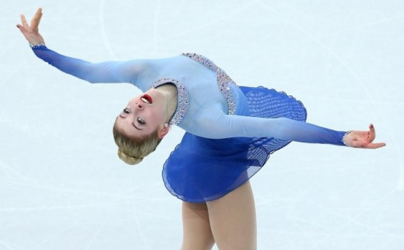 US Olympic ice skater Gracie