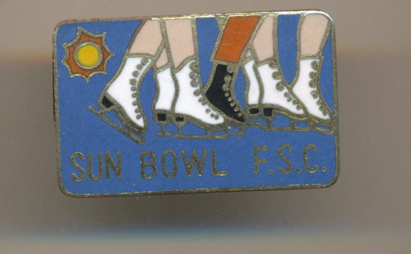 Enamel Lapel Pin Sun Bowl F s