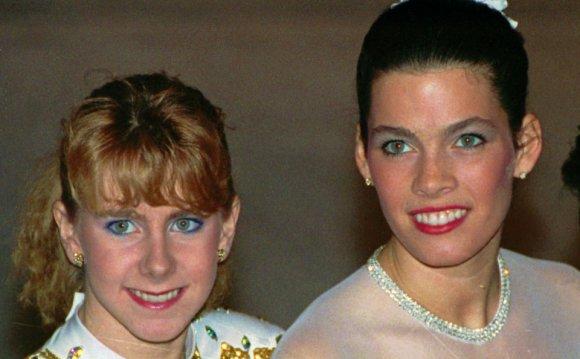 Tonya Harding and Nanc
