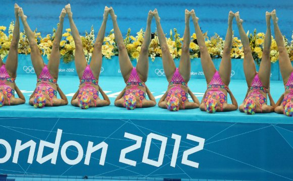 London 2012 synchronized