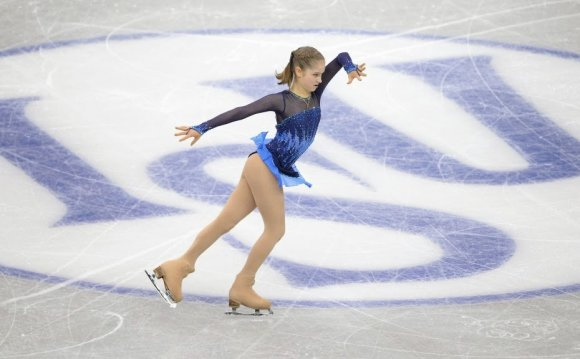 Julia Lipnitskaia of