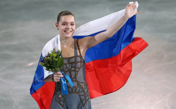 Russian Figure Skater Adelina