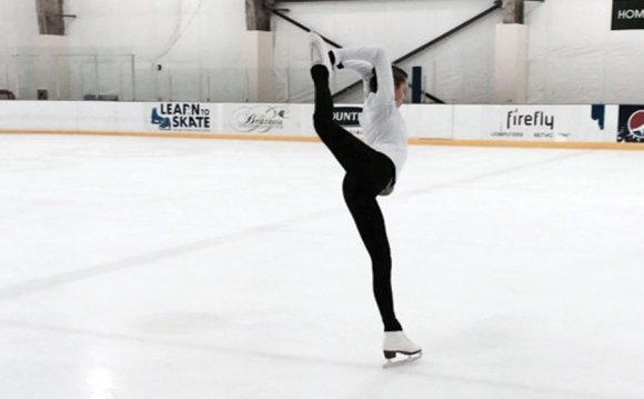 Dreams playing out on ice: