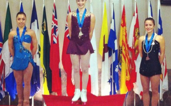 Kaetlyn Osmond of the Ice
