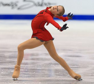 2014 Olympic Team Gold Medalist Julia Lipnitskaia