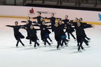 Canadian synchro championships. Nexxice.