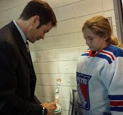 Emma Budke and Mike Richter. Photo by: Pamela Stern