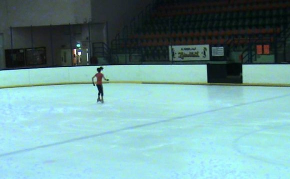 Figure Skating Footwork