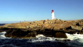 Halifax lighthouse.