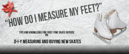 How to measure feet for skates