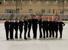 Ice Ensemble Team Skaters