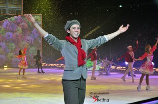 Johnny Weir as Kai, in the ice show