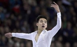 Nam Nguyen's resilience on ice learned from his father, a Vietnamese refugee