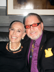 Ricky with her husband, Paul Piazzese in 2012.