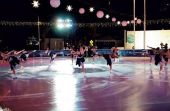The ICE at Santa Monica skating rink opens this Saturday. A grand opening celebration will be held Thursday, Nov. 6 from 6 pm to 10 pm.