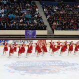 The Skyliners juvenile skaters, gold medalists.