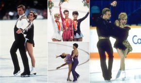 Various skaters from the 80's flaunt a short bobbed haircut