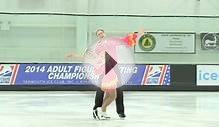2014 US Adult Figure Skating Championships - Silver Pairs