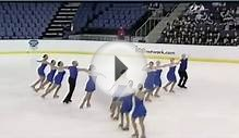 California Gold Adult Synchronized Skating Team