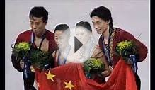Chinese figure skating couple finishes the career in GOLD