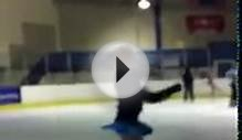 figure skating in my new skates