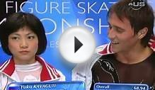 Figure skating Russian pair from Universal Sports