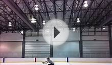 Figure Skating Sit Spin