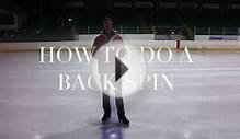 ️ HOW TO DO A BACK SCRATCH SPIN | FIGURE SKATING ️