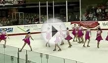 Miami University J. V. Synchronized Skating Team