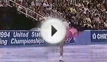 Michelle Kwan: 1994 US Figure Skating Championships Long
