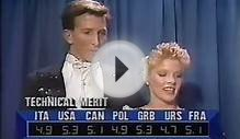 Miley & Verlich (USA) - 1989 Skate America, Ice Dancing