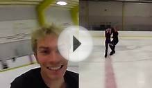 Olympic Figure Skating Head Cam with Spins, Turns & Lifts