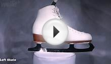 Riedell 292 / Wilson Excel Figure Skates (Womens 8 1/2) - Left