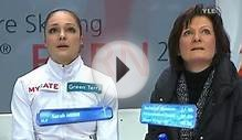 Sarah Meier - Short Program - 2011 European Figure Skating