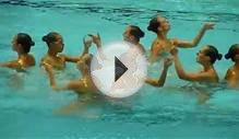 Team Canada, Free Team, Synchronized Swimming, Montreal