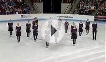 Team Canada leads 2013 Syncho Figure Skating - Universal