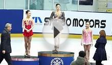 Yuna Kim on Podium, 2013 Korea National Figure Skating