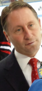 Westchester County Executive, Robert P. Astorino at the re-opening of Playland Ice. Photo by: Pamela Stern